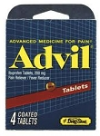 Advil 4ct, 6pk