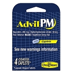 Advil PM 4ct, 6pk