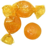 Butterscotch Buttons - 4.0oz bag (Case of 100 bags)
