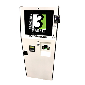 Cash in and out kiosk from 32M