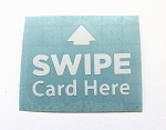 Swipe Card Decal